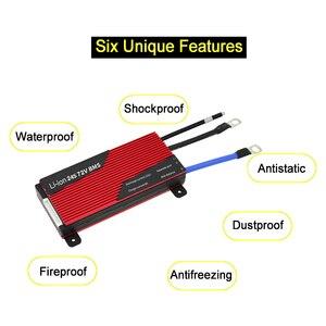 Image 2 - Batería de litio de 3,7 V para bicicleta eléctrica, BMS 13S 80A 100A 120A 150A 200A 250A PCM/PCB/BMS para 54,6 V 48V, paquete de batería de ion de litio 18650 para bicicleta eléctrica/UPS