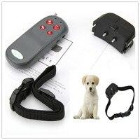 Nieuwe Draagbare Geen Schade Elektrische 4 in 1 Afstandsbediening Kleine Medium Dog Training Shock Kraag Anti Schors Hond Trainning Kraag