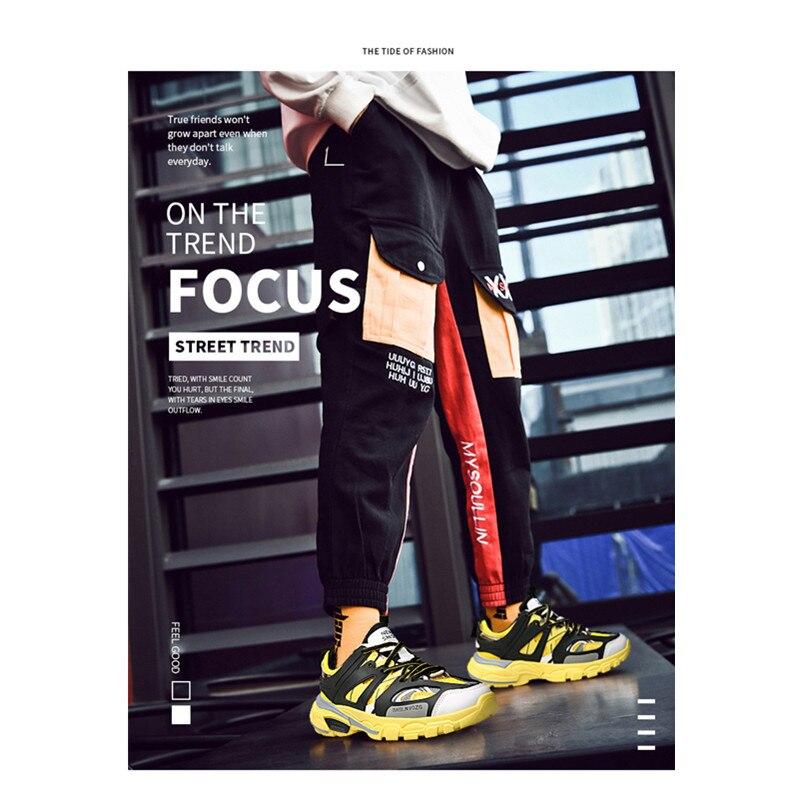 Plus Taille D'été Chaussures Appartements white Hommes 2019 Sneakers Grande Marque Yellow Respirant Décontractées Pour À Lacets Maille T3lF1cJK