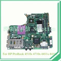 583077 - 001 para hp probook 4510 S 4710 S 4411 S Laptop motherboard PM45 DDR3 ATI gráficos