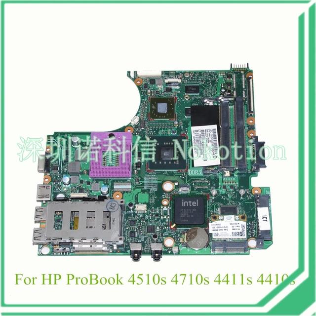 583077-001 para hp probook 4510 S 4710 S 4411 S placa madre del ordenador portátil PM45 DDR3 gráficos ATI