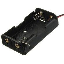 Novo 3 V Série Caixa de Bateria Com Interruptor E Fio 2 x AA18feb03