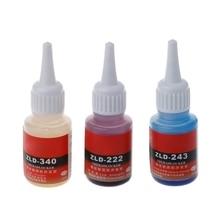 Новый анаэробный 340 222 243 винт жидкий клей фиксированный предотвратить винт ржавчины свободные фиксированный