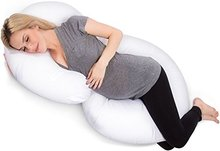 Comfort Total Body C Shape Pregnancy Pillow Lactation Pillows Pre Natal Cushion Multifunctional Body Pillow Cushions C-Shaped
