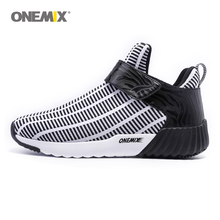 ONEMIX Newest  warm height increasing shoes winter men & women sports shoes outdoor men's running shoes size EU 36-45 1190