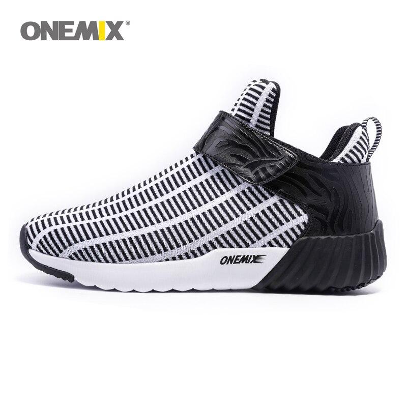 Onemix Новые Теплые увеличивающие рост зимняя обувь для мужчин и женщин спортивные туфли Открытый мужские кроссовки размер EU 36-45 1190