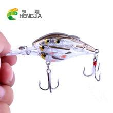 HENGJIA 1pc crankbaits plastic hard baits artificial swimbaits catfish fishing lures pesca tackles