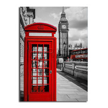 "5D DIY Diamond Painting Landscape ""London Red Telephone Booth,Red Bus"" Mosaic Cross Stitch Embroidery Scenery ""Big Ben "" Y0(China)"