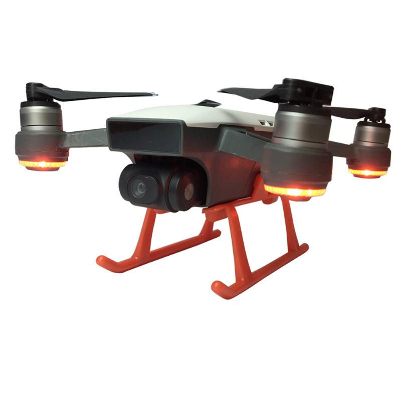 New Arrival Light Weight Landing Gear Kits Extended Riser Height Heightened Mold Opening for DJI Spark Drone