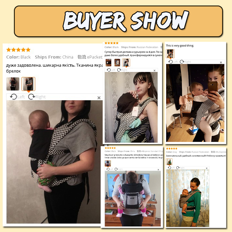 ergonomic baby carriers backpacks and portable baby sling wrap for 5-36 months babies