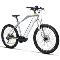 27.5inch electric mountain bike Mid mounted motor variable speed electric bike lithium battery boost off road MTB EBIKE
