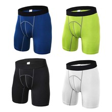 4 Colors Mens Outdoor Sport Shorts Running Fitness Gym Workout Compression S-XXL