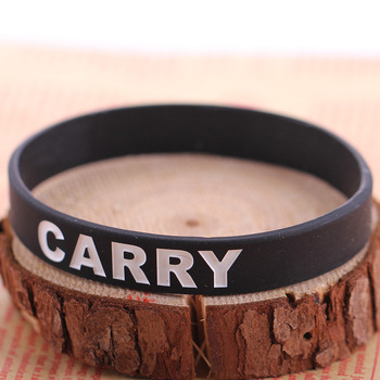 Black Anime Games Dota 2 Team Sport Wristband Male Rubber Silicone Bracelets Men Jewelry For Women Best Friends Game Party Gift 4