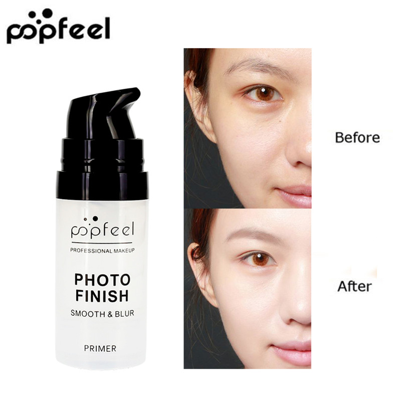 POPFEEL Pure Matte Face Base Primer Makeup Natural Moisturizer Cream Foundation Eye Shadow Primer Cosmetics Maquiagem BTZ1 TSLM1 image