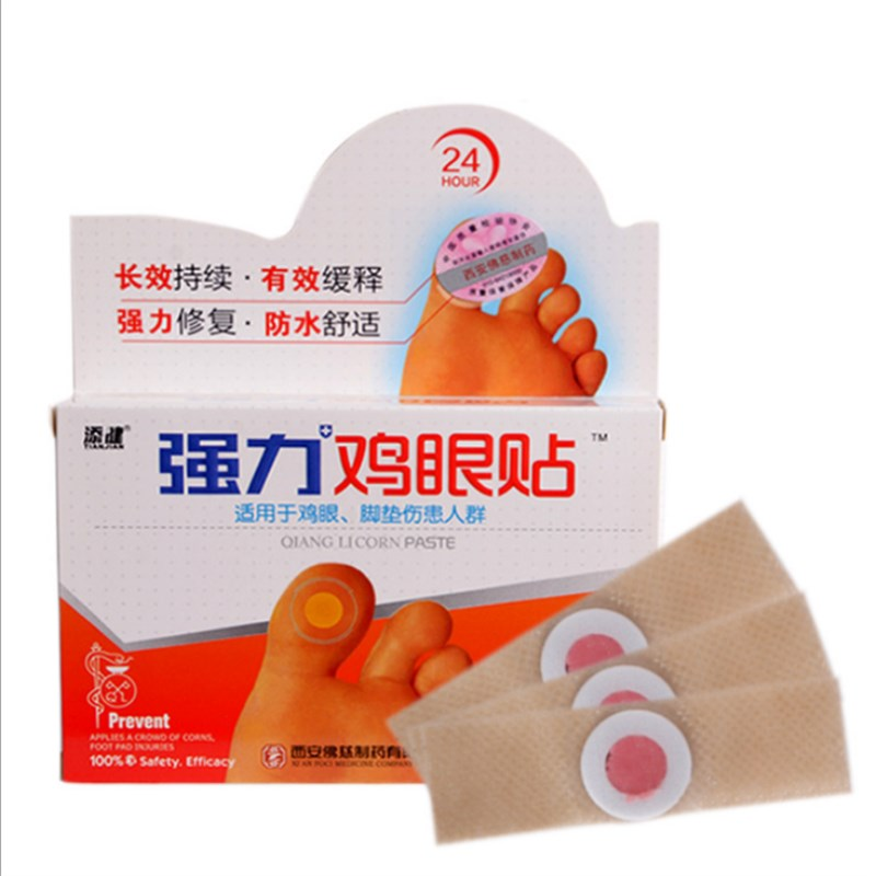 18 Pcs Exfoliating Corn Foot Patch Soft Feet Problem Remove Hard Dead Skin Treatment Removed Plantar warts Calluses Away