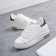 Spring new fashion women sneakers casual shoes flat comfortable offwhite  walking for skateboarding JINBEILE