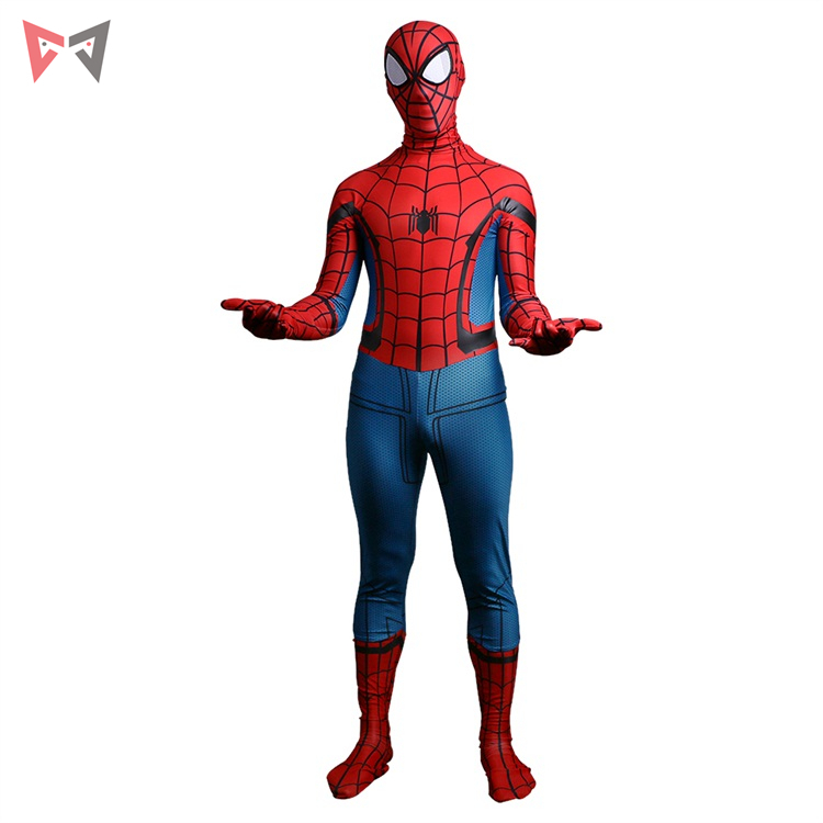 MMGG movie Spider ManHomecoming Cosplay Costume Halloween child style set High Quality