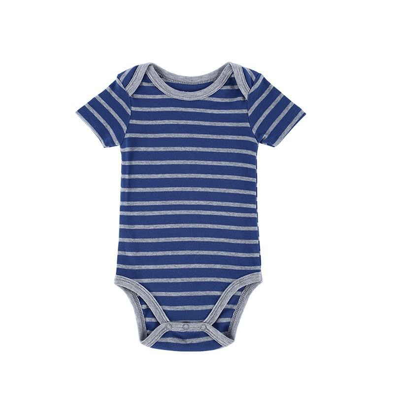 Promotion 23 Styles Baby Romper Boy & Girl Striped Short Sleeves Next Jumpsuit New Born Baby Clothes Infant Newborn Boy Body 9