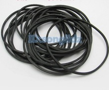 30Pieces/Lot Width:1mm thicknss:1mm (perimeter:50-80mm) Model Rubber Drive Belt Small Diy Toy Motor