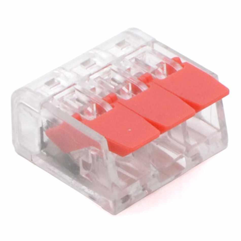 (30 & 50 個) レバーナット-3 新スタイルコンパクトスプライシングケーブルコネクタクイックディスコネクトワイヤーコネクタ awg 24-12