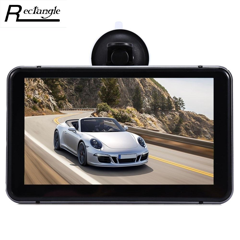 imágenes para 7 pulgadas Android Vehículo DVR Reproductor de Vídeo de Pantalla Táctil WiFi HD 1080 P Grabador de Datos del Automóvil con GPS de Navegación