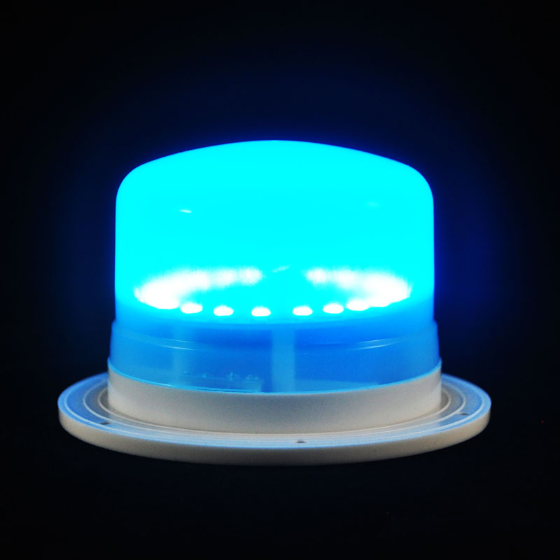 Teal LED Furniture Light