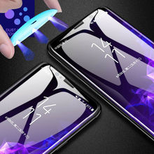 UV Liquid Tempered Glass Film For Samsung Note 10 Pro Full Cover Screen Protector For Samsung Note 10 Plus Protective Glass 10+ mr northjoe 10811 protective tempered glass screen protector for samsung note 2 n7100 transparent