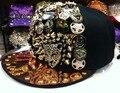 Hot! 2017 moda verão marca batman chapéu boné de beisebol para mulheres dos homens casual hip hop osso snapback caps chapéus rebites chapéu