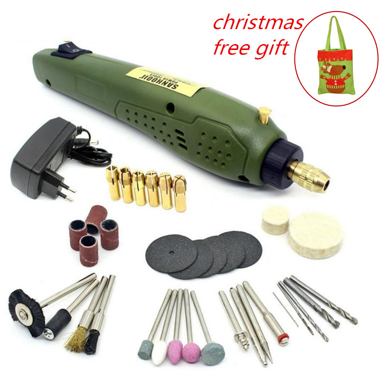 Rotary Power Tool 16000rpm Portable Electric Drill 0.5-3.15mm Drilling Accessories For Dremel Grinding Electric Drill