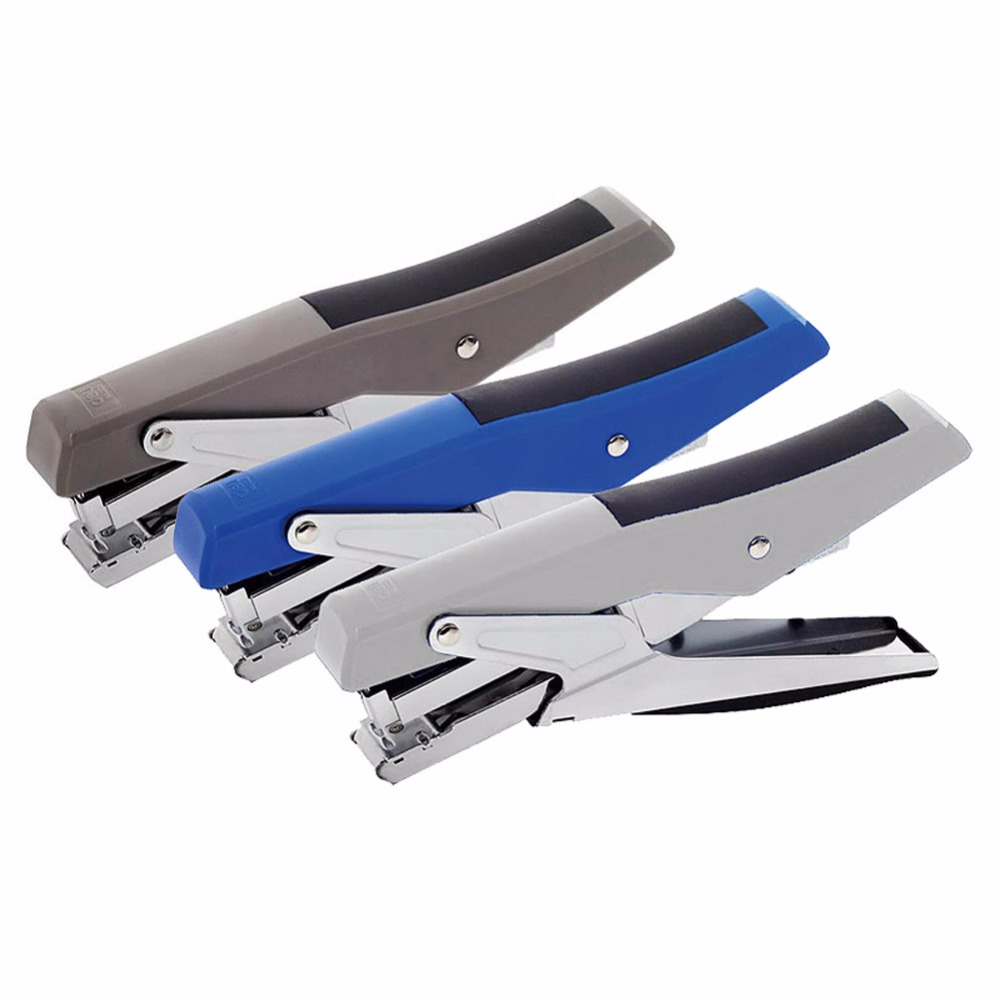 1 Pc Of Cool-Color Standard Hand-Held 100-Pin Stapler For School Stationery & Office Supply