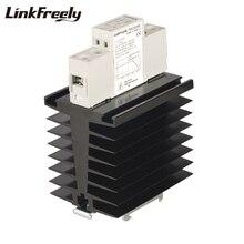цена на TRA23D80H DC AC Heat Sink SSR Solid State Relay Din Rail 80A 24-280VAC Out 3V 5V 12V 24V DC In Electrical Voltage Relay Switch