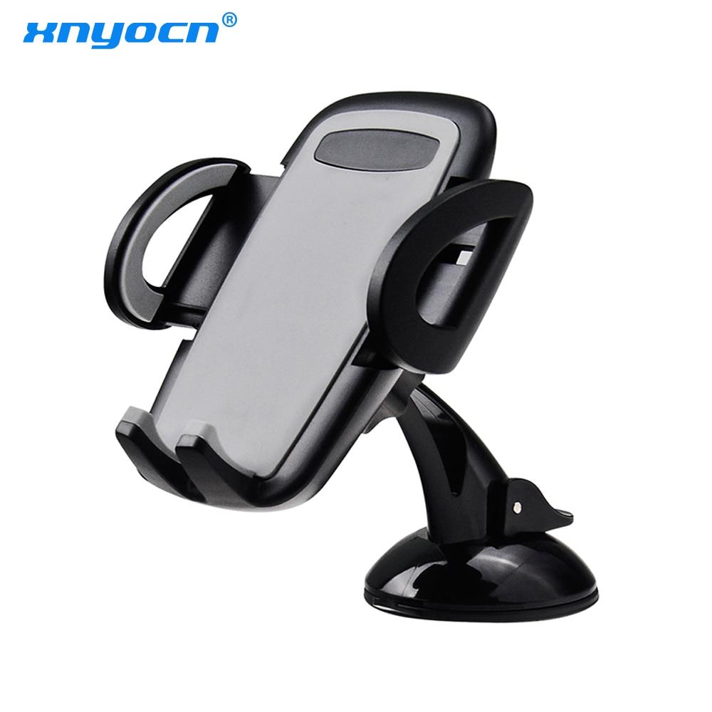 xnyocn bil mobiltelefon hållare stativ justerbar support 6,0 tum 360 - Reservdelar och tillbehör för mobiltelefoner
