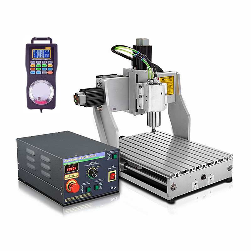 800W water cooled spindle Industrial mini cnc engraving machine 4030 ball screw 3axis cnc router 3040 1.5KW 2200W cnc router wood milling machine cnc 3040z vfd800w 3axis usb for wood working with ball screw