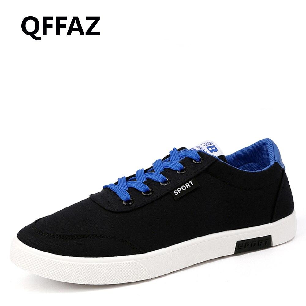 QFFAZ 2018 New Arrival Spring Summer Sneakers Comfortable Casual Shoes Men Canvas Shoes  ...