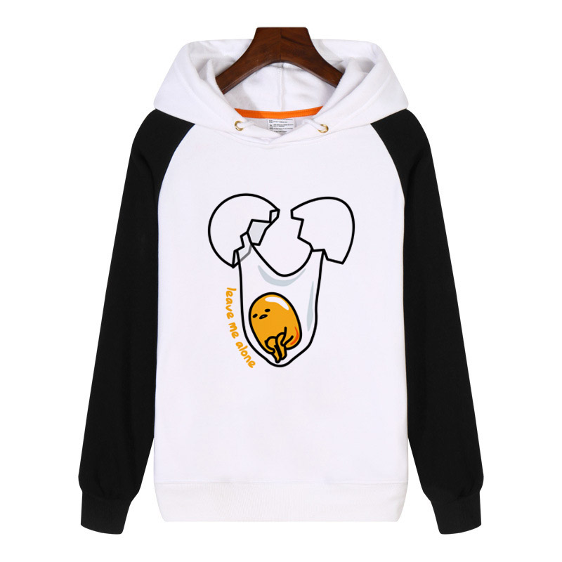 Anime Lazy Egg Yolk  Hoodies fashion men women Sweatshirt Streetwear Hoody Thick Hoodie Clothing Tracksuit Sportswear GA996