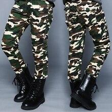 2016 printemps automne enfants pantalon formelle camouflage imprimer coton garçons pantalon pour enfants grands garçons pantalons longs vêtements