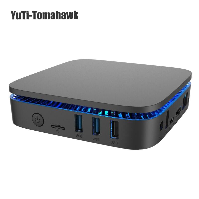 MINI PC BM double bande 2.4 Ghz/5 Ghz WIFI AK1 Win10 Intel Apollo Lake Celeron J3455 4G/32G BT4.0 4 K HDMI 2.0 Windows 10 MINI PC