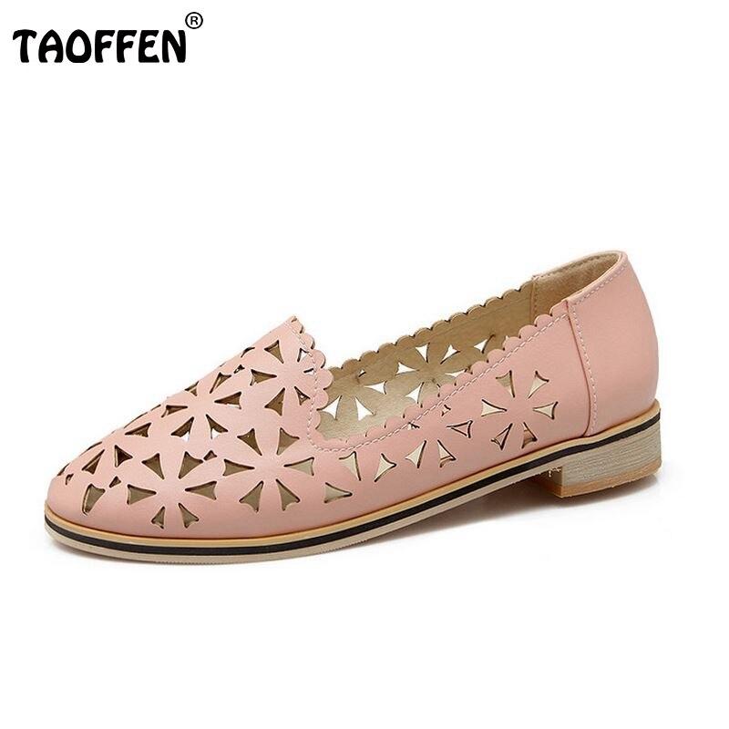 pattern women flat sandals summer fretwork appliques party brand ladies cozy footwear flats shoes size 32-43 P22586