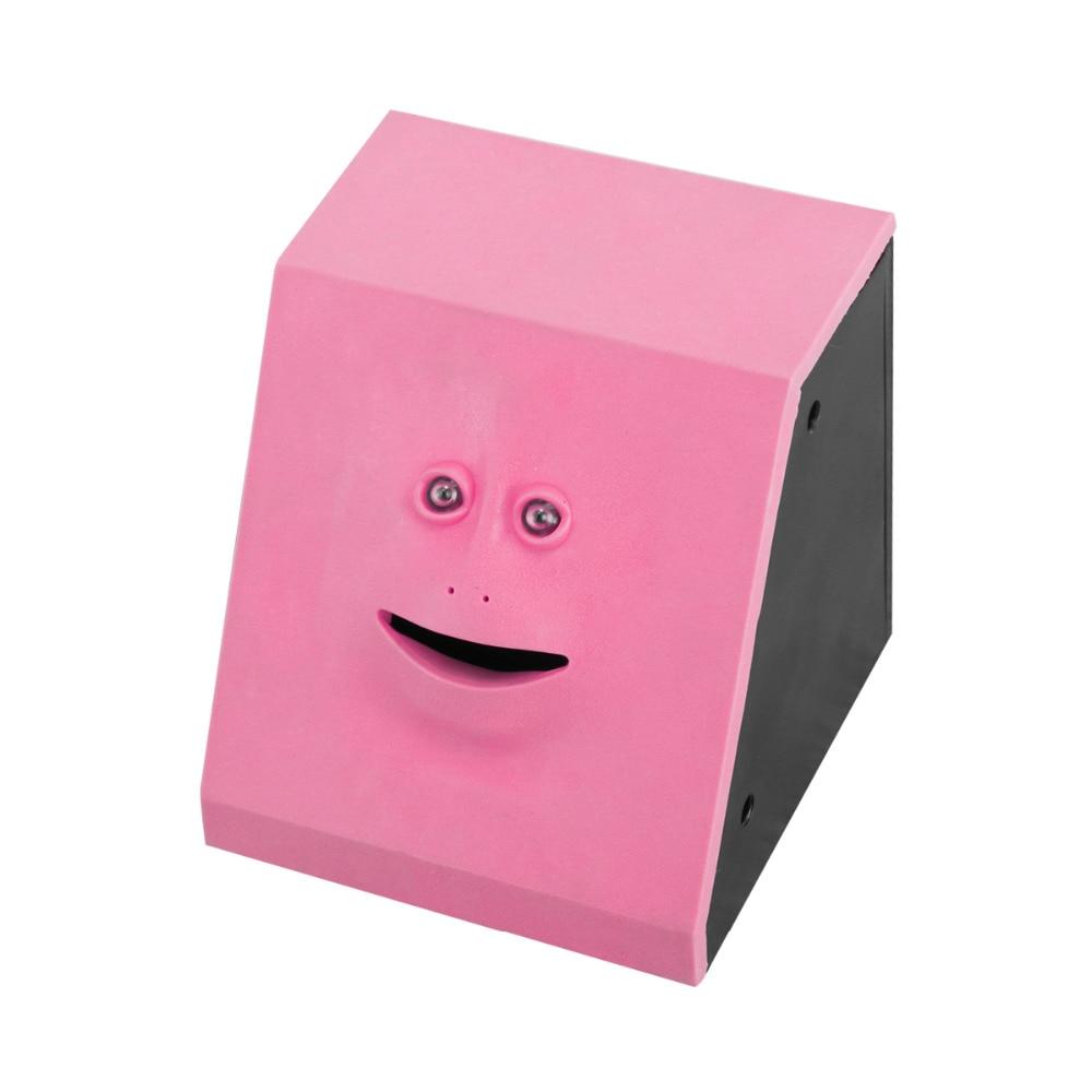 Nosii Face Money Eating Box Cute Facebank Piggy Bank Coins Box Money Coin Saving Bank for Children Toys Gift Home Decoration 1