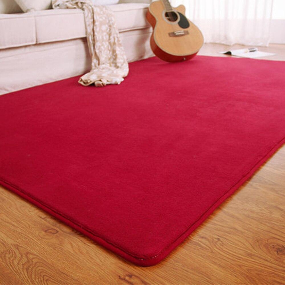 Adasmile Fashion Memory Foam Solid Mat Area rug Bedroom Rugs Mats Carpet Doormat For Hallway Living Room Kitchen Floor Outdoor in Carpet from Home Garden