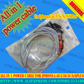 All in 1 power cable for Iphone4/4s/5/5s/5c/6/6Plus  Free shipping