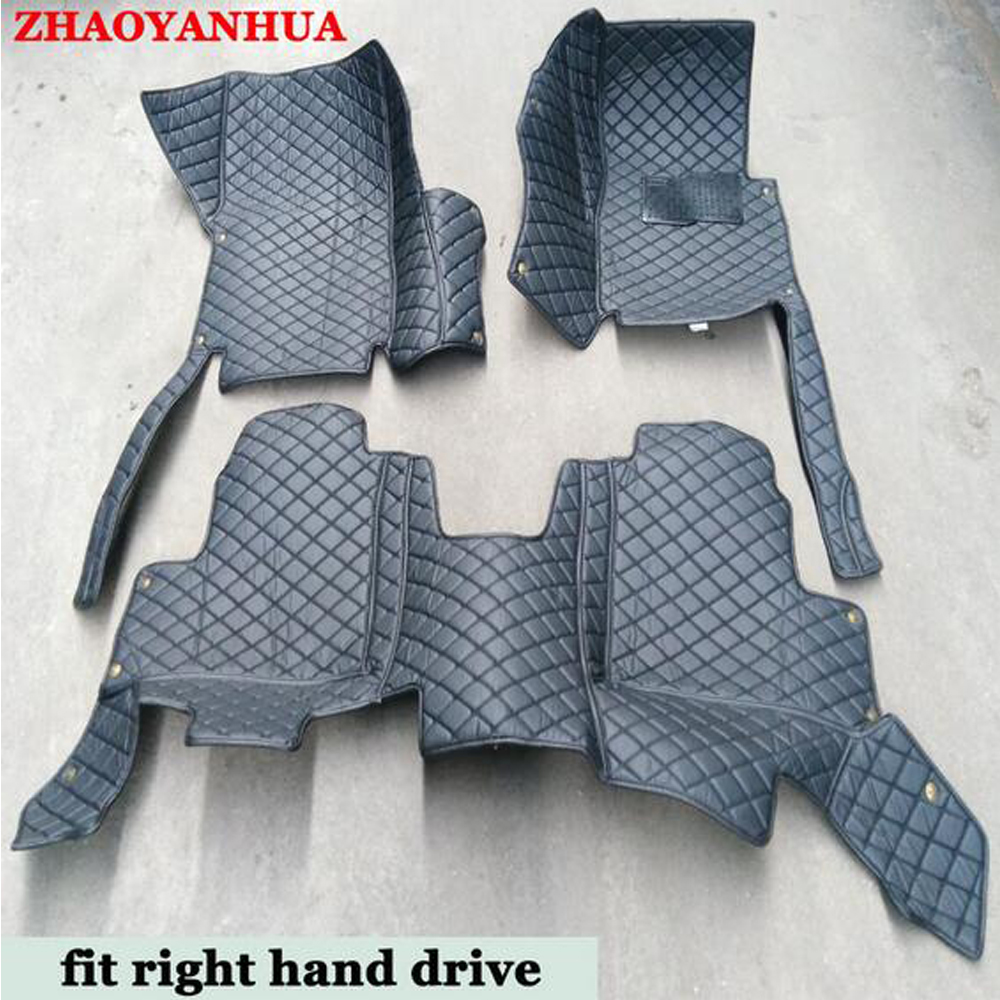 ZHAOYANHUA Right Hand Drive Car Car Floor Mats For Audi Q7