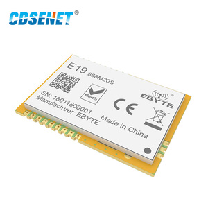 Image 5 - Lora 868 mhz sx1276 sx1278 송수신기 무선 rf 모듈 100 mw cdsenet E19 868M20S 장거리 smd 868 mhz 송신기 수신기