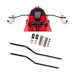 Soporte de poste estabilizador 2 uds-ideal para DIY Kayak outrigger pesca de pie navegación pesca Remo