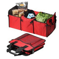 Car Trunk Storage Bag Foldable Multi Purpose Space Master Organizer With Cooling Pack For Car