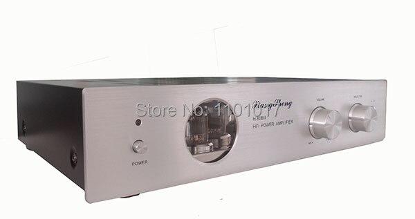 Amplificador híbrido Mosfet de tubo Xiangsheng H 80B III HIFI exquisis 12AT7 12AU7 tubo preamp H80B AMP-in Amplificador from Productos electrónicos    1