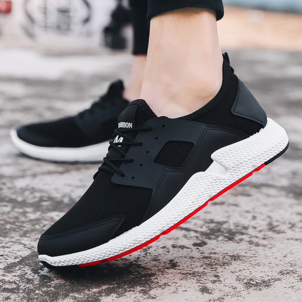 Comfort Walking Tanlo 2019 Womens Fashion Casual Lace Up Sneaker Mesh Breathable Sport Shoes Running Shoes