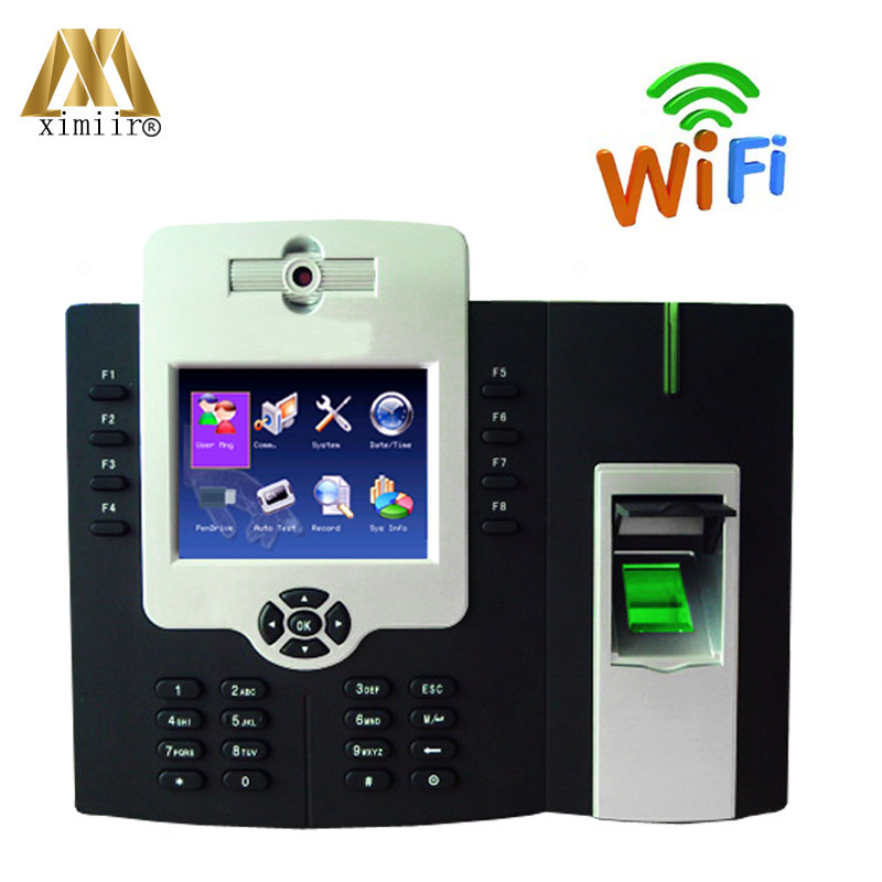 Free Shipping Wifi Function TCP IP Fingerprint Time Attendance Access Controller iclock880H
