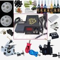 Professional tattoo machine set electric gun pattern hook tattoo needle tattoo equipment supply beauty tools