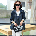 2016 Spring Newest Korean Fashion Women Jacket High Quality Denim Jacket Coat Plus Size Long Sleeve Jeans Basic Jacket Coat